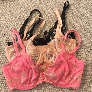 🙉 Victoria Secret Bra lot 32DD